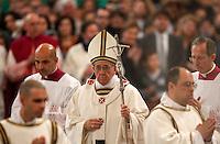 20130414 VATICANO: PAPA FRANCESCO PRENDE POSSESSO DELLA BASILICA DI SAN PAOLO FUORI LE MURA
