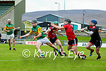 Maurice O'Connor, Kerry scores his side's third goal during the National hurling league between Kerry v Down at Austin Stack Park, Tralee on Sunday.