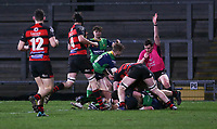 Friday 6th March 2020 | Armagh RFC vs Ballynahinch RFC<br /> <br /> Marcus Rea scores during the Bank Of Ireland Ulster Senior Cup Final between the City of Armagh RFC and Ballynahinch RFC at Kingspan Stadium, Ravenhill Park, Belfast, Northern Ireland. Photo by John Dickson / DICKSONDIGITAL