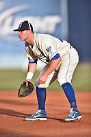 Lexington Legends first baseman Ryan O'Hearn (22) during the South Atlantic League All Star Game on June 23, 2015 in Asheville, North Carolina. The North Division defeated the South 7-5(Tony Farlow/Four Seam Images)