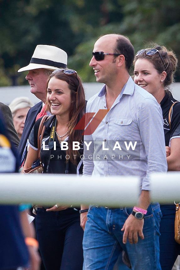 CCI4* SHOWJUMPING: 2014 GBR-Land Rover Burghley Horse Trial (Sunday 7 September) CREDIT: Libby Law COPYRIGHT: LIBBY LAW PHOTOGRAPHY - NZL