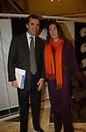 """UGO BRACHETTI PERETTI CON ALESSANDRA BORGHESE<br /> VERNISSAGE """"ROMA 2006 10 ARTISTI DELLA GALLERIA FOTOGRAFIA ITALIANA"""" AUDITORIUM DELLA CONCILIAZIONE ROMA 2006"""