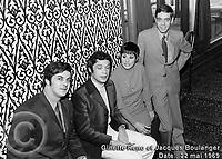 Sujet : Ginette Reno et Jacques Boulanger<br /> Date : 22 mai 1969<br /> Photographe : Photo Moderne<br /> Collection : Jocelyn Paquet<br /> Numéro : DSC32965<br /> Historique de diffusion: