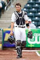 Luke Voit (30) of the Missouri State Bears during a game against the Bradley Braves on May 13, 2011 at Hammons Field in Springfield, Missouri.  Photo By David Welker/Four Seam Images