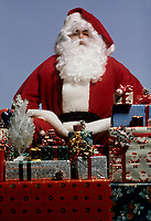 FILE PHOTO :  Santa Claus<br /> and gifts<br /> <br /> PHOTO : Harold Beaulieu - Agence Quebec Presse