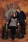 Jack Gleeson & The Iron Throne
