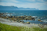 Sea coast at Rocky Harbour, Newfoundland