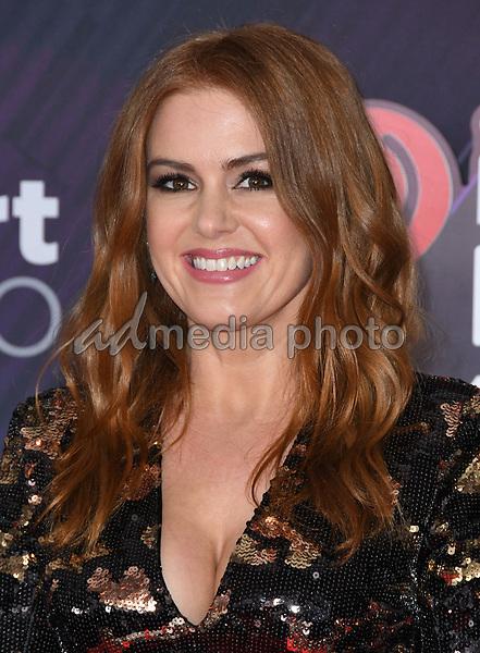 11 March 2018 - Inglewood, California - Isla Fisher. 2018 iHeart Radio Awards held at The Forum. Photo Credit: Birdie Thompson/AdMedia