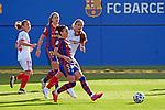 Liga IBERDROLA 2020-2021. Jornada: 12<br /> FC Barcelona vs Sevilla: 6-0.<br /> Melanie Serrano.