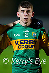 Thomas O'Donnell, Kerry during the Munster Minor Semi-Final between Kerry and Cork in Austin Stack Park on Tuesday evening.