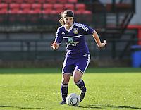 RSC Anderlecht Dames : Laura De Neve.foto DAVID CATRY / Vrouwenteam.be