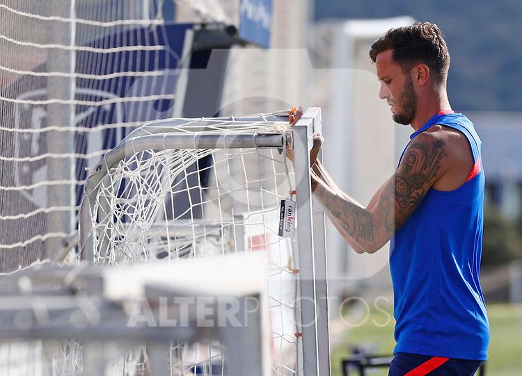 Atletico de Madrid's Saul Niguez during training session. July 13,2021.(ALTERPHOTOS/Atletico de Madrid/Pool)