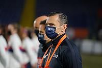 BREDA, NETHERLANDS - NOVEMBER 27: Vlatko Andonovski head coach of the United States during a game between Netherlands and USWNT at Rat Verlegh Stadion on November 27, 2020 in Breda, Netherlands.
