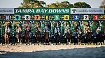 OLDSMAR, FL - MARCH 11: And they're off running in the Tampa Bay Derby, in which Tapwrit #5, ridden by Jose Ortiz wins on Tampa Bay Derby Day at the Tampa Bay Downs on  March 11, 2017 in Oldsmar, Florida. (Photo by Douglas DeFelice/Eclipse Sportswire/Getty Images)