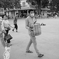 street life in Siem reap, Cambodia, August 2020