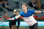 Tomas Berdych, Czech Republic, during Madrid Open Tennis 2016 match.May, 6, 2016.(ALTERPHOTOS/Acero)