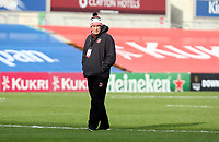 25 October 2020; Dean Ryan Head Coach of the Dragons before the Guinness PRO14 match between Ulster and Dragons at Kingspan Stadium in Belfast. Photo by John DicksonvDicksondigital