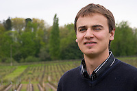 Joachim Gilbert, winemaker vineyard manager chateau la garde pessac leognan graves bordeaux france
