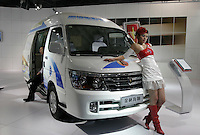 A Jinbei Haishi is shown in The Beijing International Automobile Exhibition, Beijing, China..19 Nov 2006