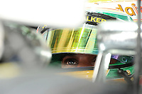 McLaren Mercedes British  driver Lewis Hamilton .24/03/2012 Grand Prix Malesia, Sepang , Essais..Foto Insidefoto  /Bernard Asset / Panoramic.ITALY ONLY..