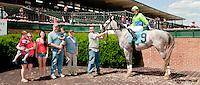 Parseghian winning at Delaware Park on 6/19/13