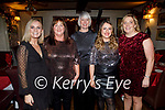 Stephanie Leahy, Helen Egan, Honor Hurley, Linda Brown and Helen Twomey enjoying the evening in Cassidys on Saturday.