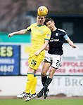 Dundee v St Johnstone…10.03.18…  Dens Park    SPFL<br />Liam Craig and Cammy Kerr<br />Picture by Graeme Hart. <br />Copyright Perthshire Picture Agency<br />Tel: 01738 623350  Mobile: 07990 594431
