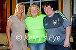 Enjoying the evening in the Crannog on Saturday, l to r: Niamh Casey, Patricia Birmingham and Martina Griffin.