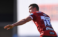 5th September 2020; Kingsholm Stadium, Gloucester, Gloucestershire, England; English Premiership Rugby, Gloucester versus London Irish; Jonny May of Gloucester gestures to his team mates