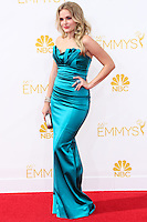 LOS ANGELES, CA, USA - AUGUST 25: Actress Madeline Brewer arrives at the 66th Annual Primetime Emmy Awards held at Nokia Theatre L.A. Live on August 25, 2014 in Los Angeles, California, United States. (Photo by Celebrity Monitor)