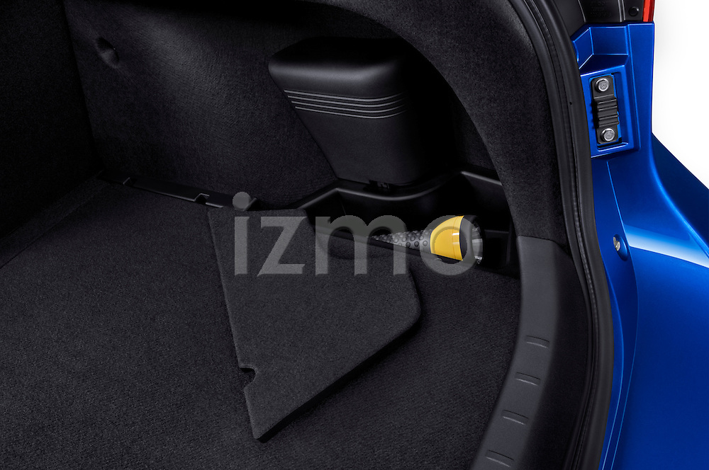 Trunk Cargo Area on a 2010 Mitsubishi Lancer Sportback