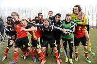 2016.03.16 U17 Belgium - Spain