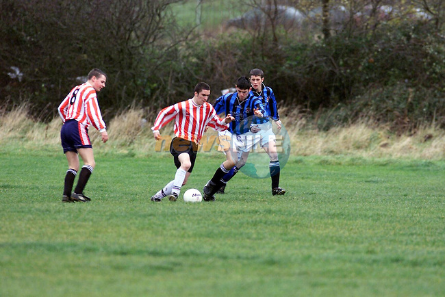 Action from the Drogheda Boys U/17 Match .Picture by Fran Caffrey Newsfile