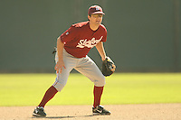 14 October 2007: Former Stanford Cardinal baseball player during Stanford's 10-3 win in the Alumni game at Sunken Diamond in Stanford, CA.