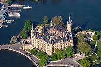 Schwerin Schloss: EUROPA, DEUTSCHLAND, MECKLENBURG VORPOMMERN,
