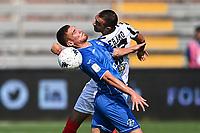 Mg Como 11/09/2021 - campionato di calcio serie B / Como-Ascoli / photo Image Sport/Insidefoto<br /> nella foto: Alessandro Gabrielloni-Mirko Eramo