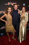 Micaela Diamond, Jason Moore and Teal Wicks Attends the After Party for the Broadway Opening Night  of 'The Cher Show' at Pier 60 on December 3, 2018 in New York City.