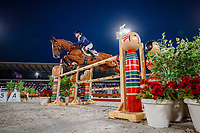 AUS-Andrew Hoy rides Vassily de Lassos during the Eventing Jumping Team Final and Individual Qualifier (MEDAL). Tokyo 2020 Olympic Games. Monday 2 August 2021. Copyright Photo: Libby Law Photography