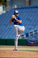 Toronto Blue Jays pitcher Austin Havekost (45) during an Instructional League game against the Philadelphia Phillies on September 23, 2019 at Spectrum Field in Clearwater, Florida.  (Mike Janes/Four Seam Images)