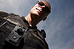 Portland Police Bureau Officer Michael Close is one of the officers that carries a body camera while on patrol., Beaverton Valley Times - News