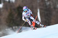 18th February 2021; Cortina d'Ampezzo, Italy;  FIS Alpine World Ski Championships 2021 Cortina  Women's Giant Slalom,  Tessa Worley (FRA)