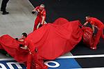 26.09.2020, Sochi Autodrom, Sochi, FORMULA 1 VTB RUSSIAN GRAND PRIX 2020 ,  im Bild<br />Das abgedeckte Fahhrzeug von Sebastian Vettel (GER#5), Scuderia Ferrari<br /> <br /> Foto © nordphoto / Bratic