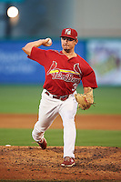 Palm Beach Cardinals relief pitcher Cody Schumacher (30) during a game against the Jupiter Hammerheads  on August 12, 2016 at Roger Dean Stadium in Jupiter, Florida.  Jupiter defeated Palm Beach 9-0.  (Mike Janes/Four Seam Images)