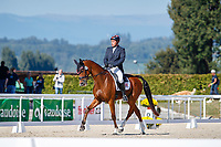 AUT-Dr. Harald Ambros rides Lexikon 2 during the Dressage. 2021 SUI-FEI European Eventing Championships - Avenches. Switzerland. Friday 24 September 2021. Copyright Photo: Libby Law Photography