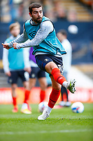 21st November 2020; Kenilworth Road, Luton, Bedfordshire, England; English Football League Championship Football, Luton Town versus Blackburn Rovers; Elliot Lee of Luton Town warming up