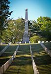 SALISBURY, NC 050521MB35—at the Salisbury National Cemetery in Salisbury, NC. <br /> Martin Begnal Republican American