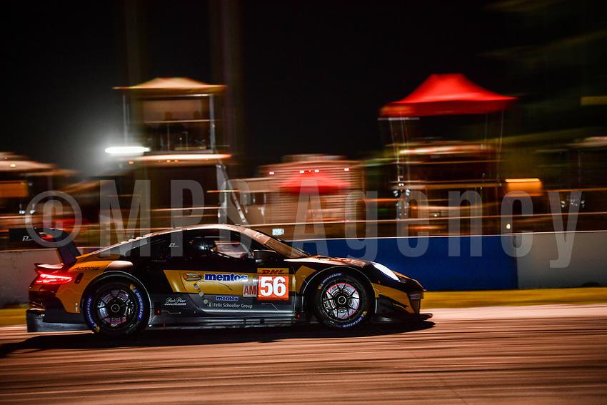 #56 TEAM PROJECT 1 (DEU) PORSCHE 911 RSR GTE AM JORG BERGMEISTER (DEU) PATRICK LINDSEY (USA) EGIDIO PERFETTI (NOR)