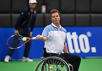 December 17, 2014, Rotterdam, Topsport Centrum, Lotto NK Tennis, Aart Piet Box (NED)<br /> Photo: Tennisimages/Henk Koster