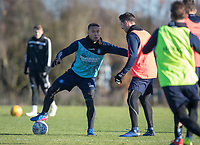 Curtis Thompson of Wycombe Wanderers during the Wycombe Wanderers Training session at Wycombe Training Ground, High Wycombe, England on 17 January 2019. Photo by Andy Rowland.