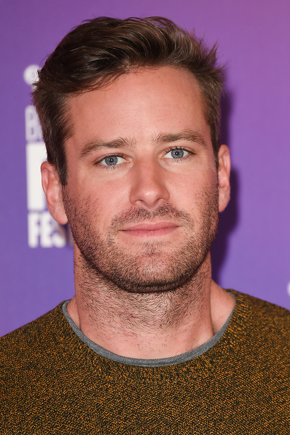"Armie Hammer<br /> at the London Film Festival 2017 photocall for the film ""Call Me by Your Name"" at the Mayfair Hotel, London<br /> <br /> <br /> ©Ash Knotek  D3326  09/10/2017"